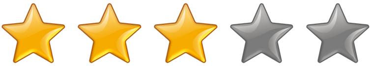 Rating 3 Stars