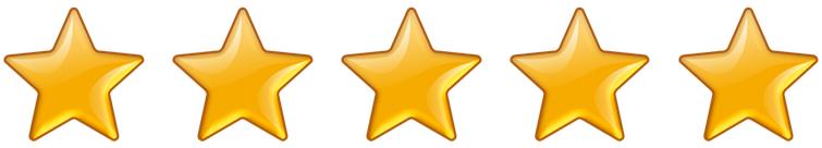Rating 5 Stars